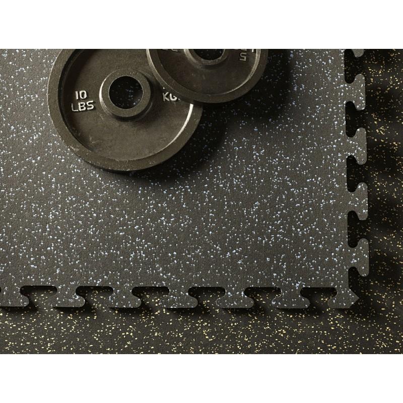 Aktivlok interlocking rubber gym flooring puzzle tile