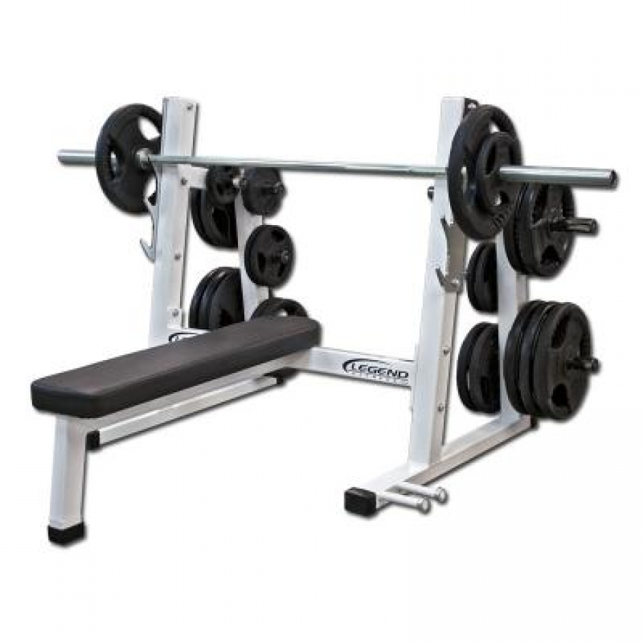 Legend Fitness Pro Series Olympic Flat Bench