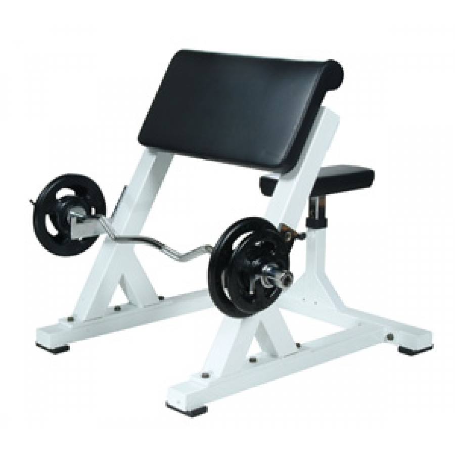 York Barbell St Preacher Curl Bench Sts Pcb