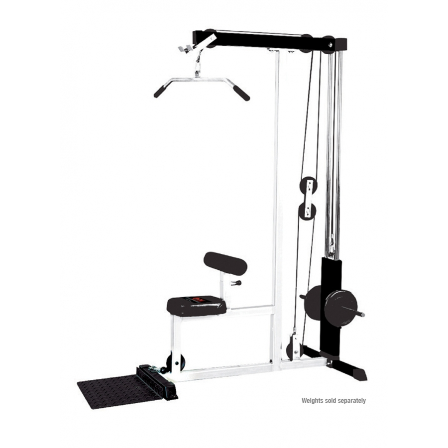 lat pulldown machine how to use