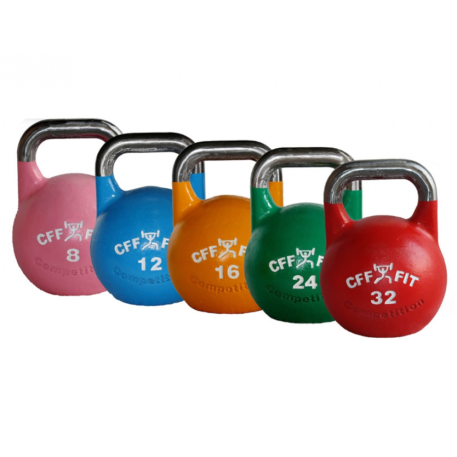 Kettlebell 24kg Professional Competition Grade: All Steel Russian Kettlebell
