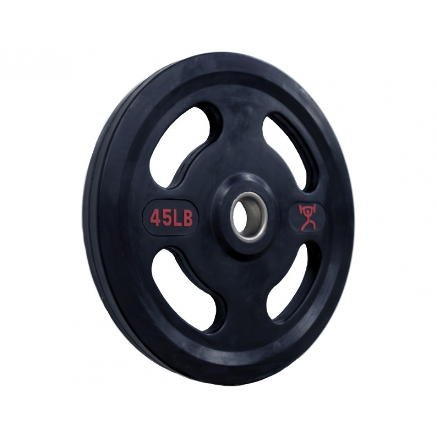 Cff 4 Grip Rubber Coated Olympic Weight Plates