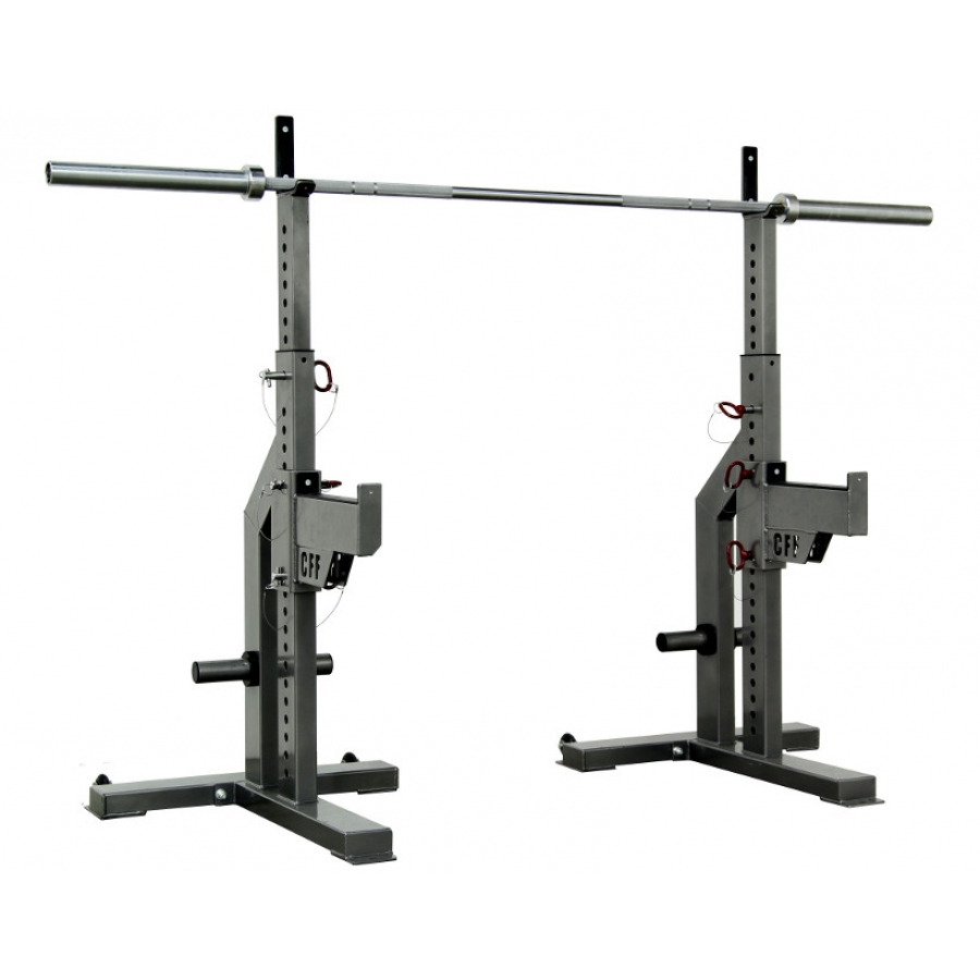 Sqiat stand with spotter arms