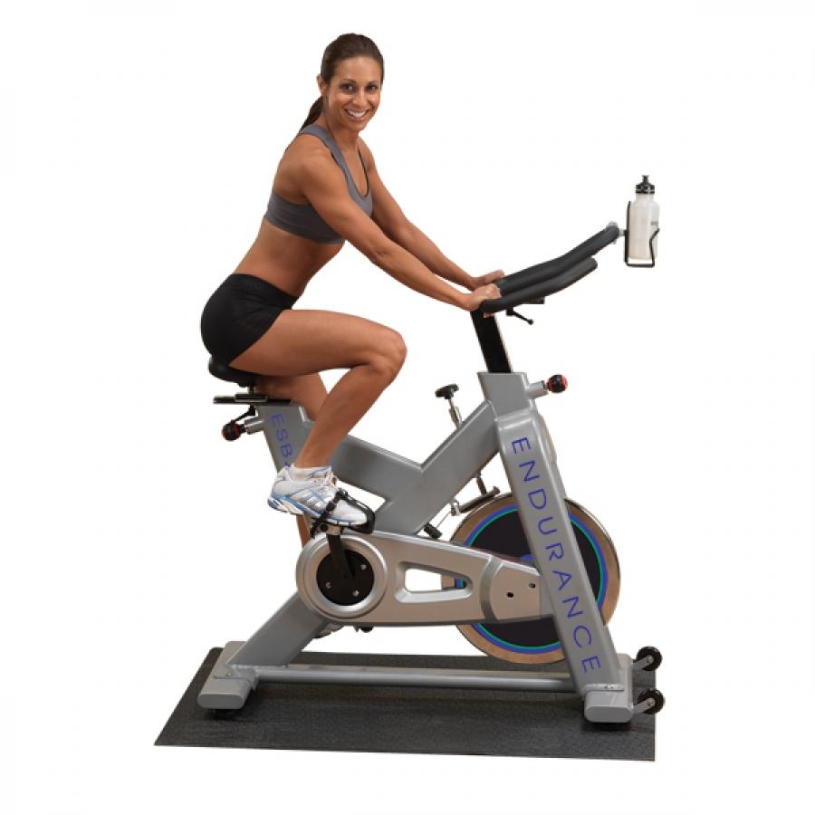 Body Solid Endurance Manual Recumbent Bike: Body Solid Endurance Exercise Indoor Cycling Bike