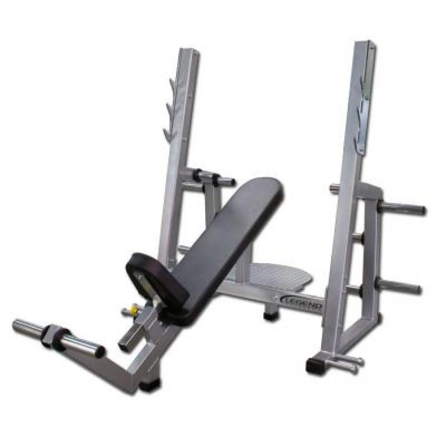 legend bench legend fitness pro series olympic incline bench. Black Bedroom Furniture Sets. Home Design Ideas
