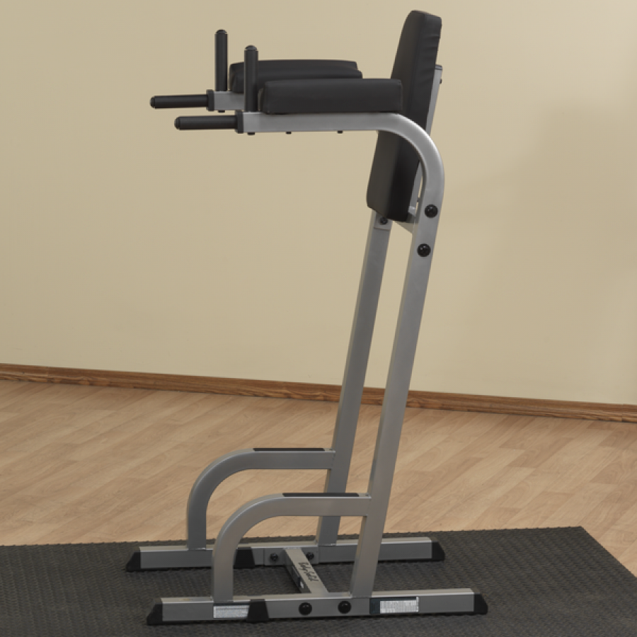 Station A Dips: Body Solid Vertical Knee Raise & Dip Stand GVKR60