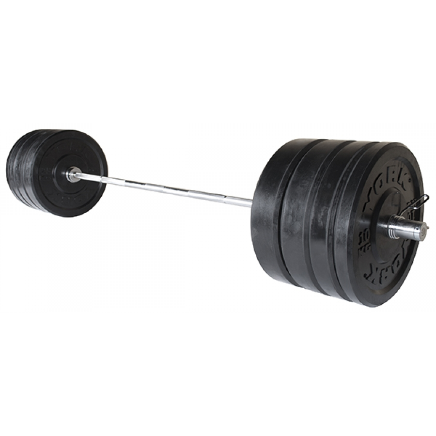 York Barbell Rubber Bumper Olympic Training Plates