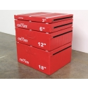 "CFF Cushion Plyo Boxes 3, 6, 12, 18"". Foam"