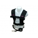 CFF Pink Sled & Lead Harness