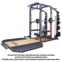 Legend Fitness Pro Series 8 ft Power Cage