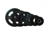 CFF 4-Grip Rubber Coated Olympic Weight Plates