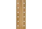 12 Hole Maple Peg Board Climber