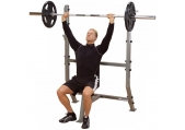 Body Solid Pro Clubline Shoulder Press Olympic Bench