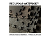 Regupol Aktivlok Interlocking Puzzle Tile - Rubber Gym Flooring