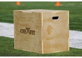 "CFF 3-IN-1 Wood Plyo Box - 20""/24""/30"""