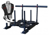 """CFF """"Alaskan"""" 5 Man Team Sled - Weighted Push or Pull"""