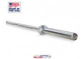 Olympic 5' Hard Chrome Bar -- Iron Grip