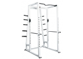York ST Power Rack w/ Weight Storage