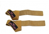 CFF FIT Leather Weightlifting Straps