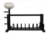 CFF Bar & Bumper Storage Rack w/Chalk Bowl