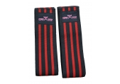 "CFF Elite Knee Wraps Red and Black - 78""L"