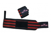 CFF Pro Elite Wrist Wraps - Red & Black