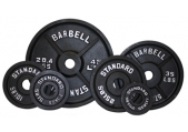 Troy Olympic 300 lb Weight Set - Black