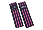 "CFF Elite Knee Wraps Pink and Black - 72""L"