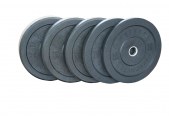 Wright USA Made Bumper Plates - Solid Rubber