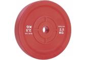 Werksan 2.5 kg Developmental Bumper Plates