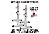 CFF Squat Stands GEN 2 - 750 lb Capacity