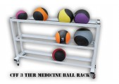 CFF 3 Tier Medicine Ball Rack with Wheels