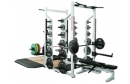 York Barbell Strength Training Series Double Half Rack