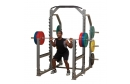 Body Solid Pro Clubline Multi Squat Rack
