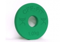Calibrated Fractional Rubber Olympic Weights 1.00KG