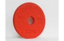 Calibrated Fractional Rubber Olympic Weights 2.50KG