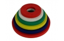 Calibrated Fractional Rubber Olympic Weights 15.5KG set