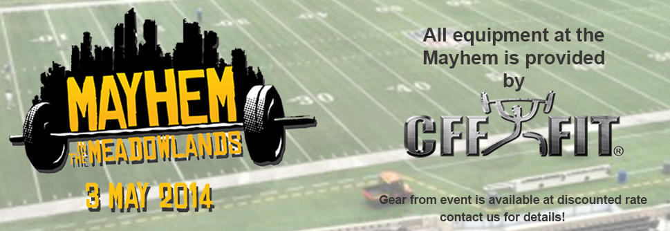 CFF supplies all equipment for Mayhem in the Meadowlands